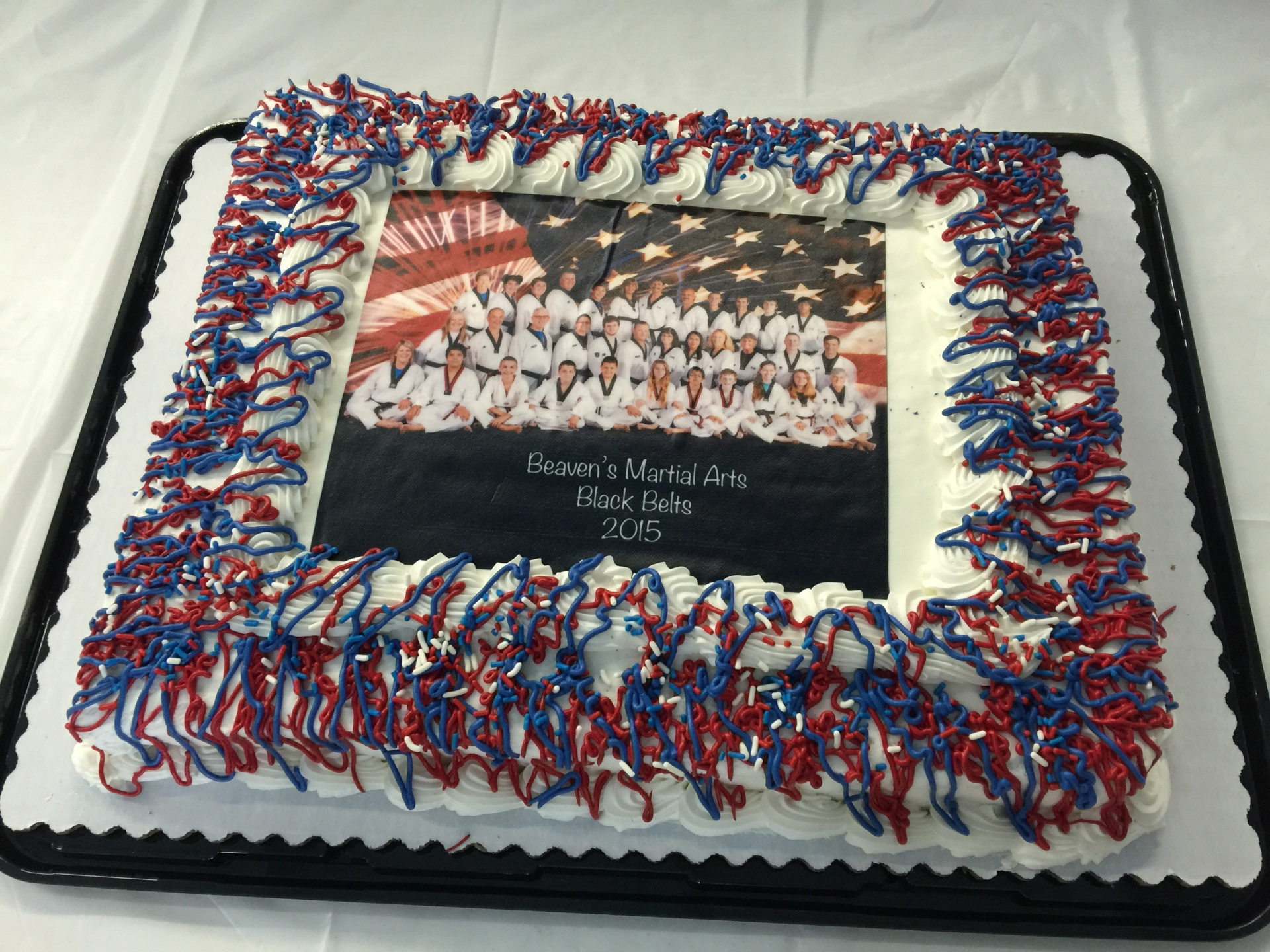 Black Belts 2015 Cake