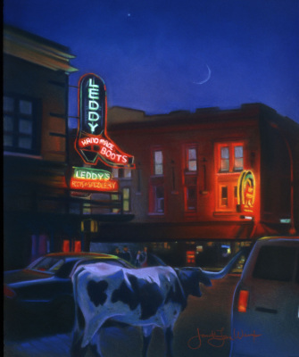 """Leddy's, Ft. Worth Stockyards"""