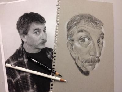 self caricature