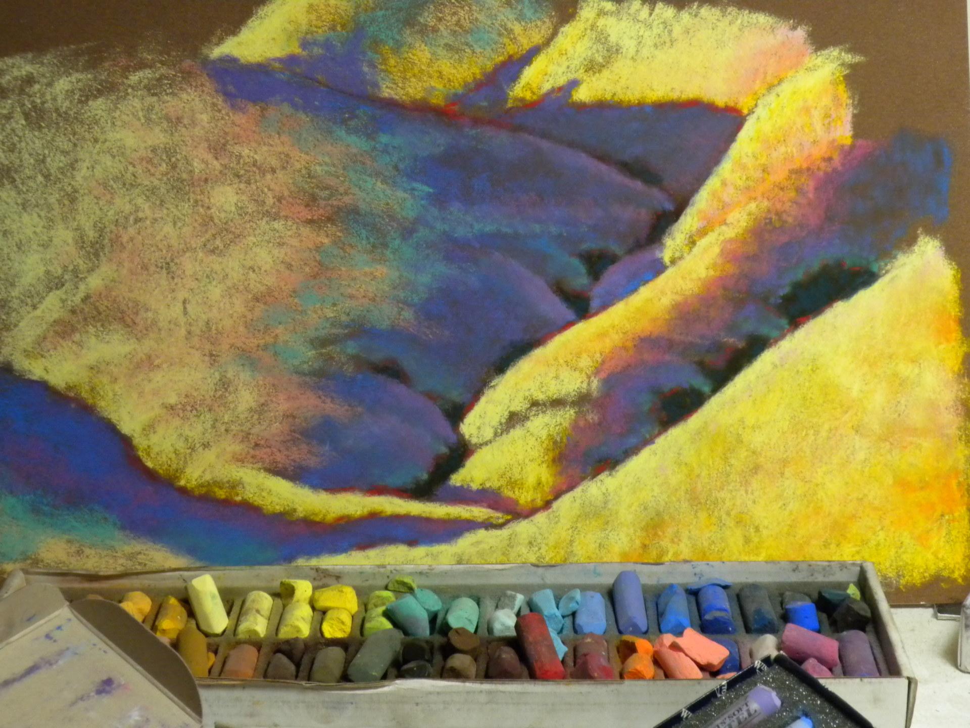 soft pastel