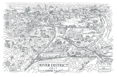 """river district"""