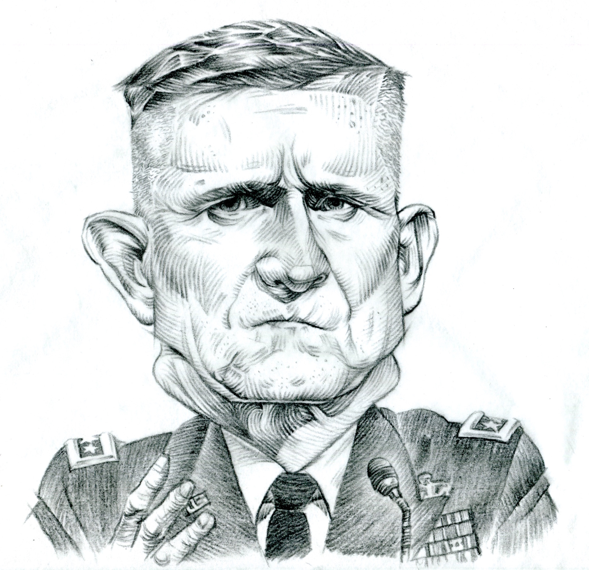"lieutenant general michael ""lock her up"" flynn"