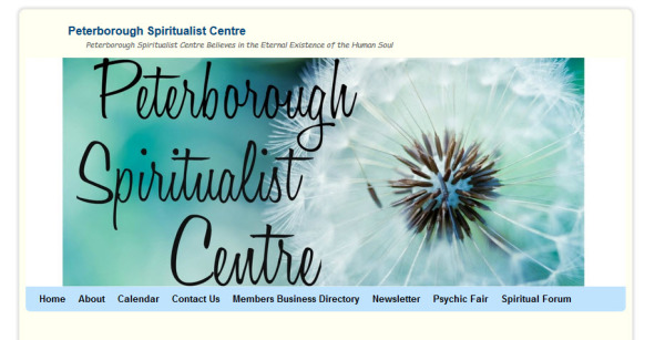 Peterborough Spiritualist Centre Website