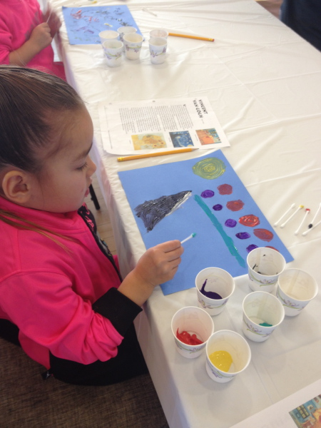Winter Art Camp December 2015