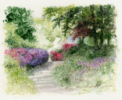 Study 'Azalia Steps', Winkworth