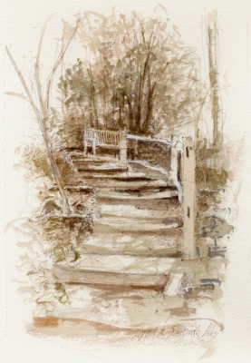 Steps at Winkworth