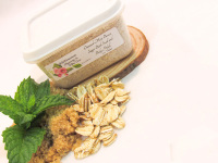 Oatmeal Mint Brown Sugar Scrub