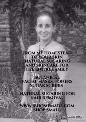 JBHomemade Sugaring and Skincare Owner Jennifer