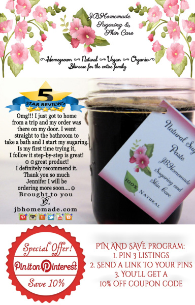 JBHomemade Sugaring Paste Reviews