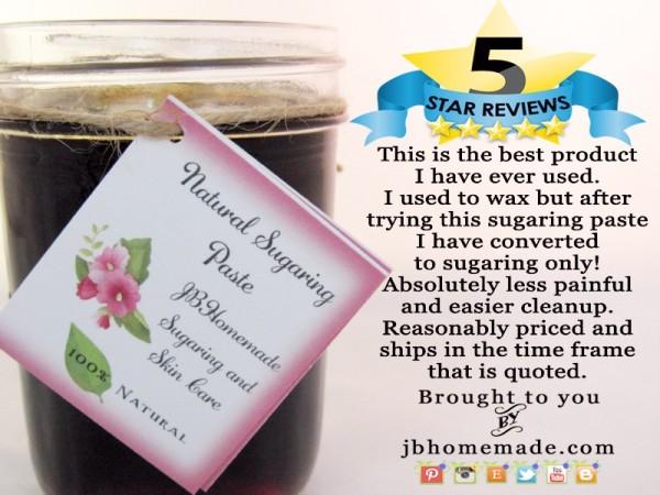 JBHomemade Sugaring Reviews