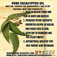 Natural Rosemary Eucalyptus Herbal Sugar Scrub Body Polish