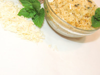 Peppermint Coconut All Natural Sugar Scrub - Detoxifying - Moisturizing
