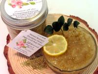 Natural Rosemary Eucalyptus Herbal Sugar Scrub Body Polish - 8 Oz