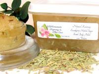 Natural Rosemary Eucalyptus Herbal Sugar Scrub Body Polish - 2 Oz