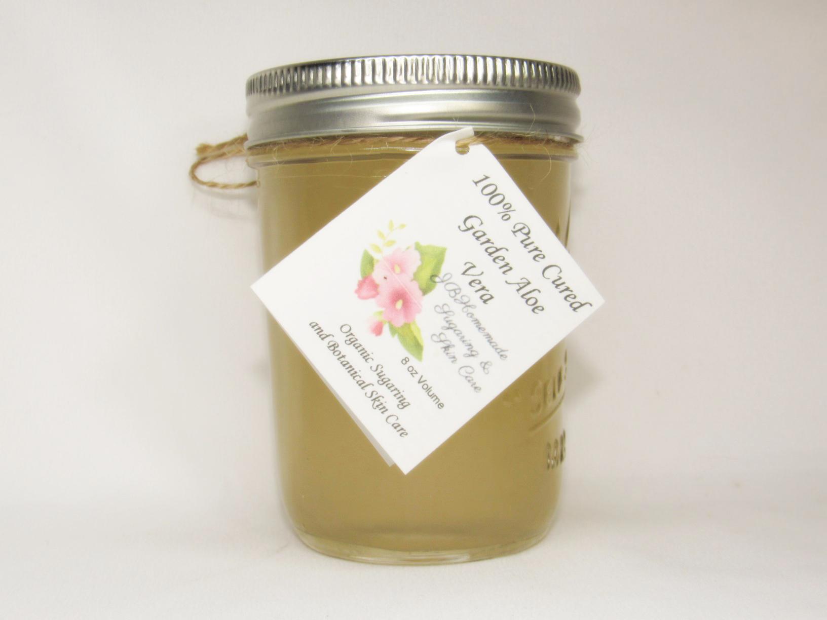 Pure CURED ALOE - 100% Pure Soothing Aloe Vera- 4 Oz