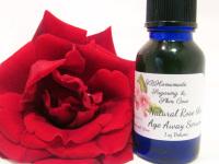 Rose the Age Away Face Serum – Rose Water and Rose Hip Anti-Aging Wrinkle Serum