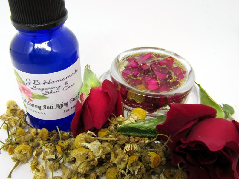 Rose & Chamomile Ultra Hydrating Anti-Aging Face Serum
