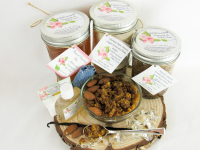 Sugaring Wax & Brown Sugar Almond Vanilla Scrub Deluxe Bundle