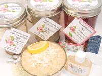 Sugaring Wax & Natural Coconut Lemon Sugar Scrub Deluxe Bundle