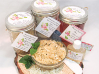 Sugaring Wax & Peppermint Coconut Sugar Scrub Deluxe Bundle