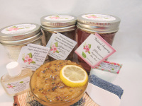 Sugaring Wax & Natural Herbal Lavender Sugar Scrub Deluxe Bundle