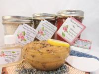 Sugaring Wax & Natural Herbal Lavender Sugar Scrub Deluxe Bundle