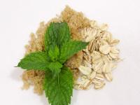 Soothing Oatmeal Mint Brown Sugar Scrub Body Polish - 8 Oz
