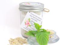 Oatmeal Mint Bath Soak 8 oz