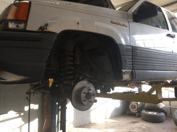 new front brakes jeep