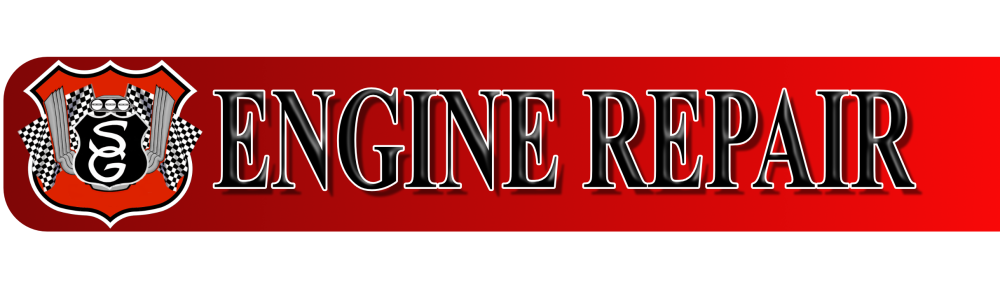 Engine repair banner