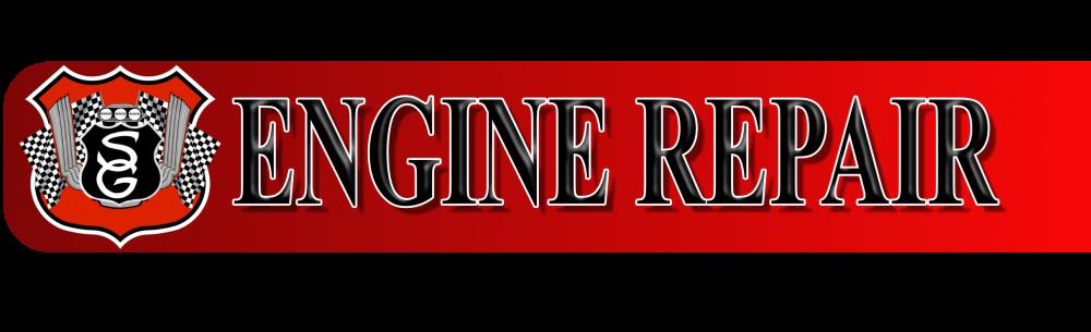 Engine repair banner