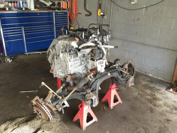 Hybrid Engine Drop