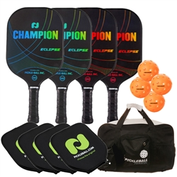 Champion Eclipse Graphite 4-Pack Bundle