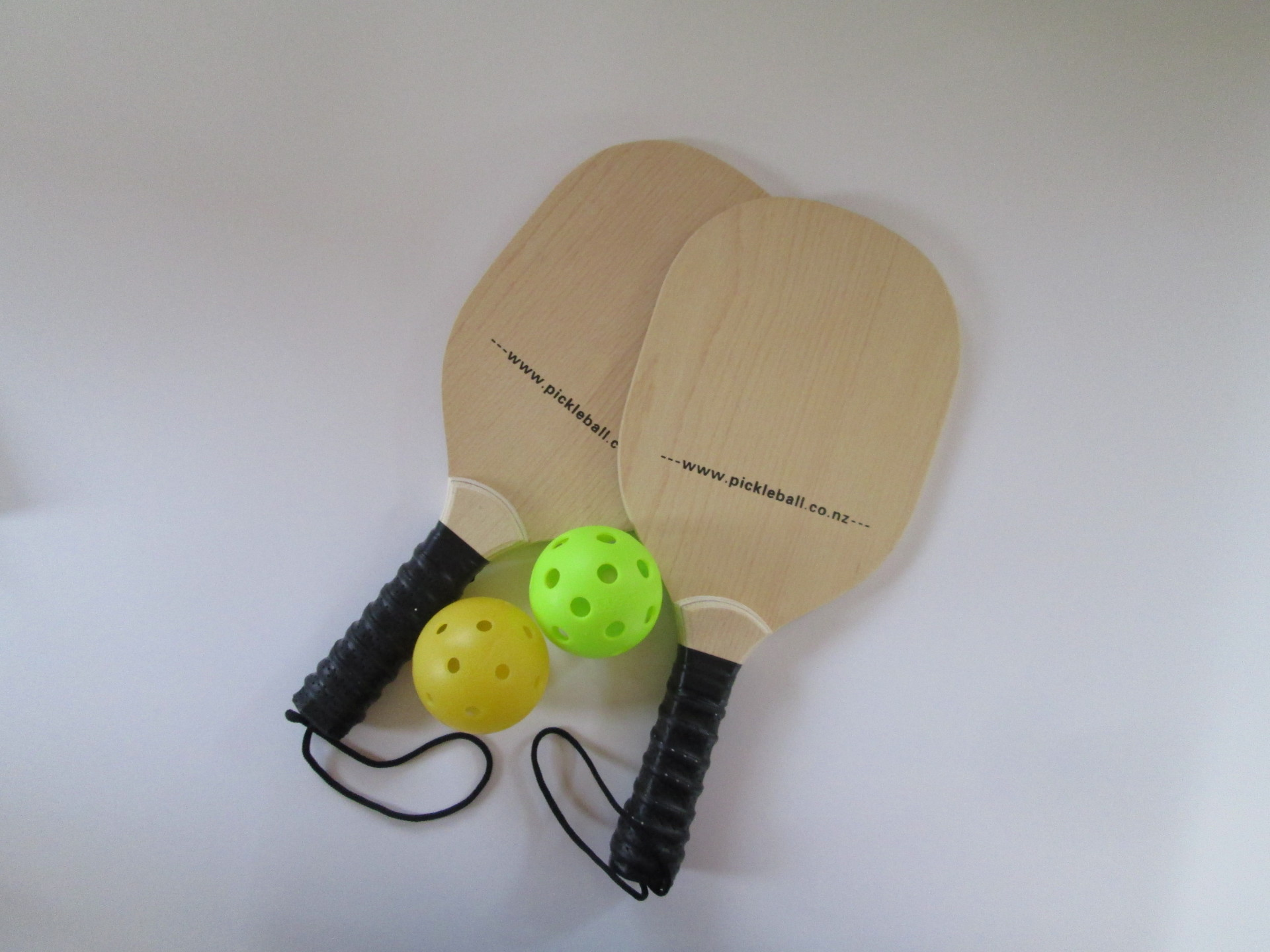 Wooden Pickleball Set
