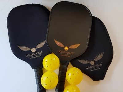Golden Wing Pickleball Set