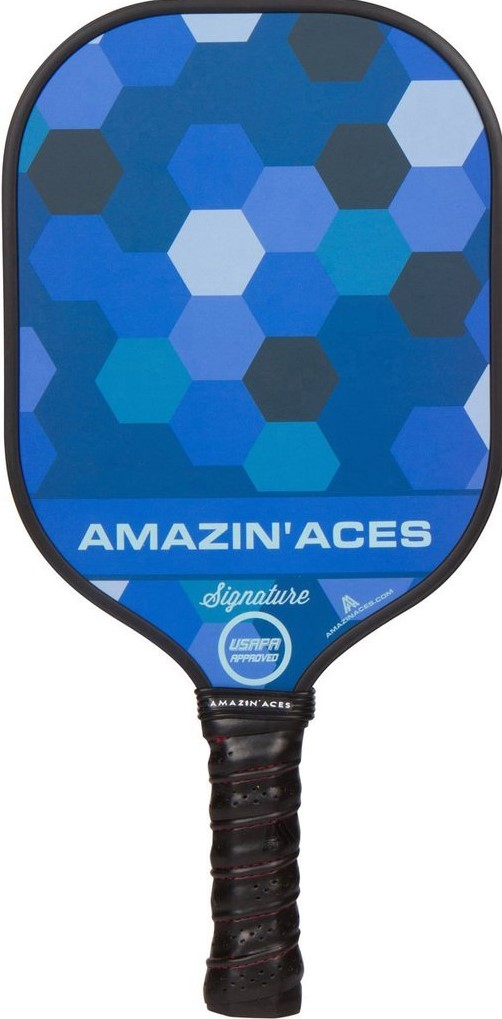 Amazing Aces Signature Paddle - Blue