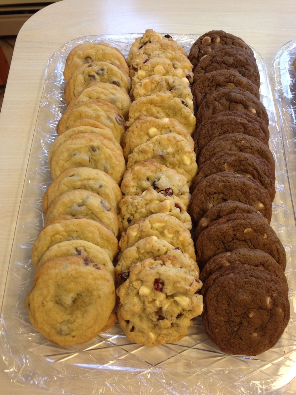Cookie platters for your event