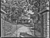 Vintage Photo of Home