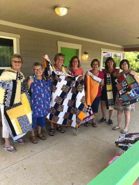 The Quilting Troops