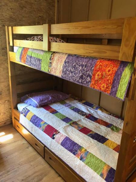 Bunks at the Flying Horse Farms