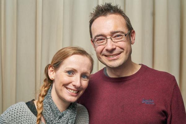 Pete and Sarah Benest