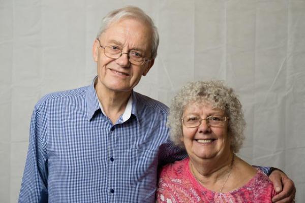 Merv and Stephie Dawkins