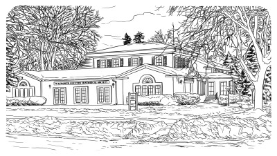 Walworth County Historical Society Heritage Hall Illustration