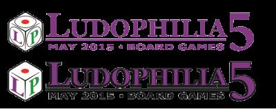 Ludophilia Board Game Convention Logos