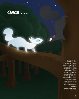 Shade the Shadowling Page 1