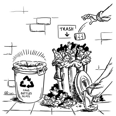 Waste Illustration