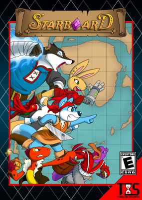Starboard Video Game Box Cover