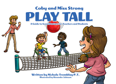 Coby and Miss Strong Play Tall – Front Cover