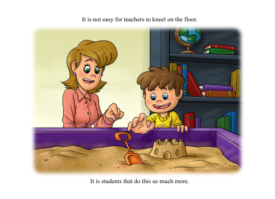 Coby and Miss Strong Play Tall – Page Sample #3