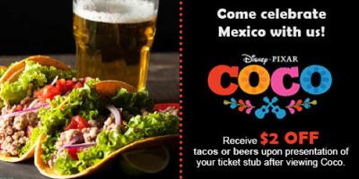 Disney's Coco film restaurant ad (1/2)